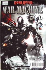 War Machine #2 Dynamic Forces Signed Greg Pak DF COA Ltd 50 Dark Reign Marvel comic book